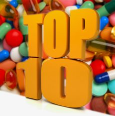 Top 10 Products in 2018 from Canadian Health&Care Mall